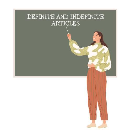 definite article和indefinite article